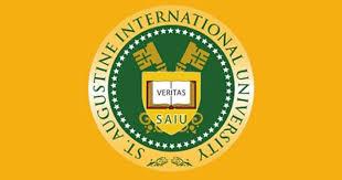 St. Augustine International University Application Form